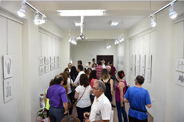 Yazar ve Sanatçı Evi'nde karikatür sergisi