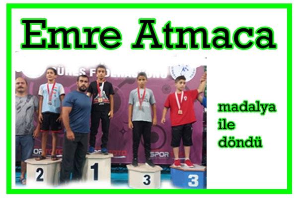 Emre Atmaca Türkiye Şampiyonu