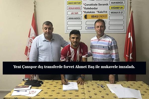 Ahmet Baş Y.Çanspor'da