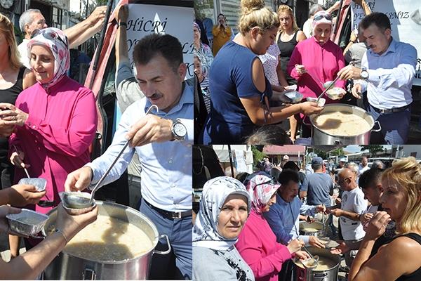 AK Parti'den aşure ikramı