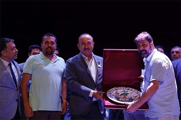 Bakan Çavuşoğlu'ndan Çanakkale'ye selam