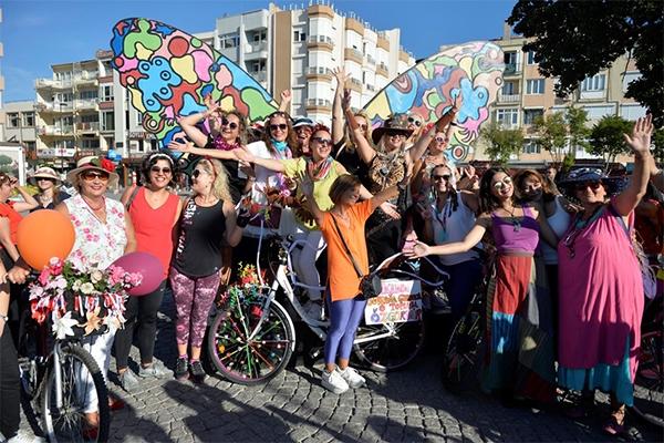 Bisikletlerle kent turu