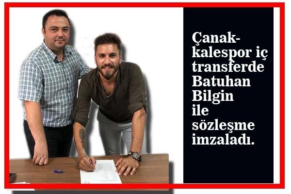 Çanakkalespor'da Batuhan İmzaladı