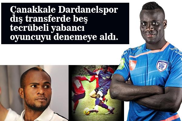 Dardanelspor'da İmzalar An Meselesi