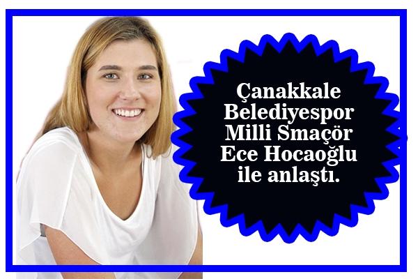 Ece Hocaoğlu Belediyespor'da