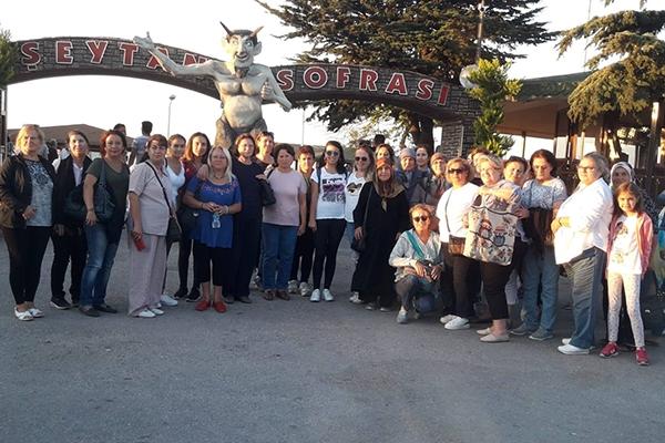 Eceabat Belediyesi'nden kültür gezisi