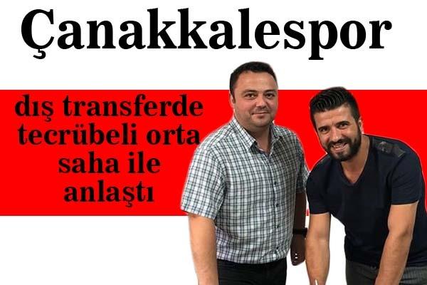 Emre Kalço Çanakkalespor'da