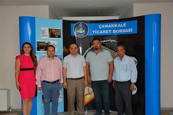 Ercan'dan ÇTB'ye ziyaret