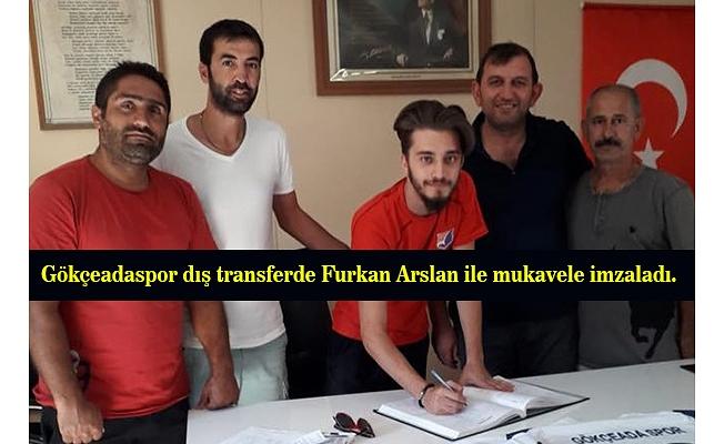 Furkan Arslan Gökçeadaspor'da