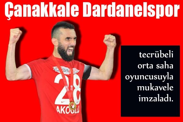 Hüseyin Akoğlu Dardanelspor'da