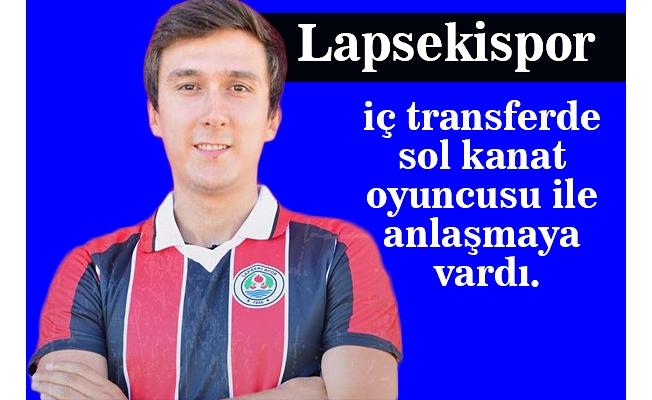 Lapsekispor'da Gülşen imzaladı