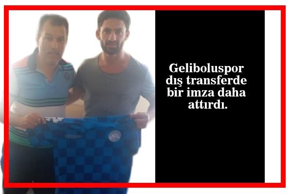 Mert Aydoğan Geliboluspor'da