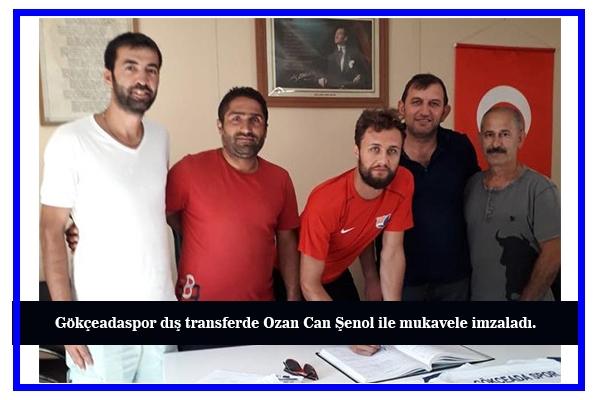 Ozan Can Şenol Gökçeadaspor'da