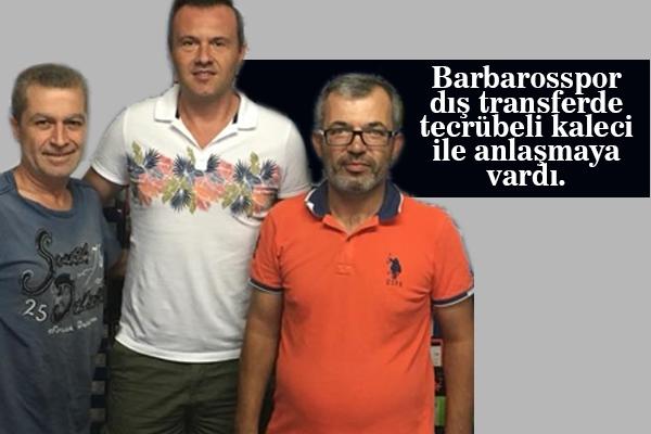 Tolga Güleryüz Barbarosspor'da