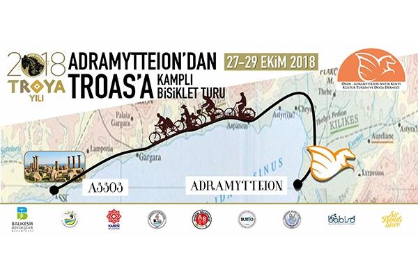 """""""Adramytteıon'dan Troas'a Kamplı Bisiklet Turu"""""""
