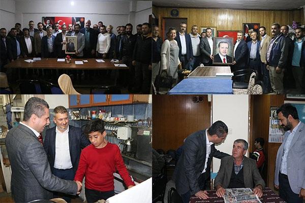 AK Parti Yönetimi ziyaret turunda