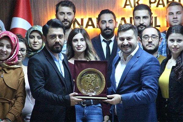 AK Partili gençler Arslan'ı ağırladı