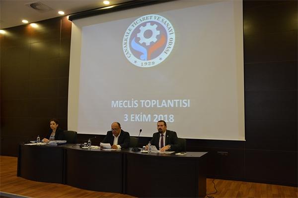 ÇTSO Meclisi toplandı