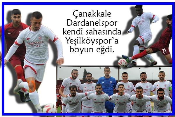 Dardanel ağır yaralı 0-2