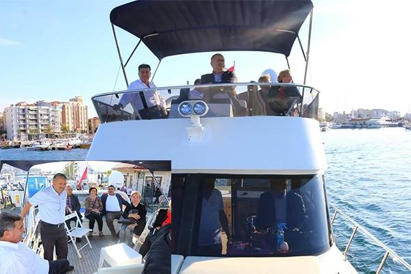Kepez Belediyesi'ne gezi teknesi