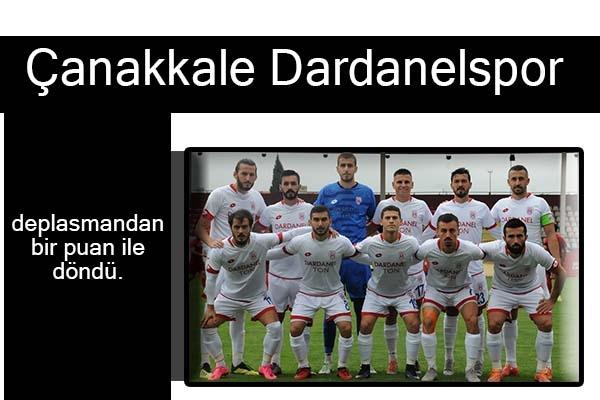 Tekirdağspor:1  Dardanelspor:1