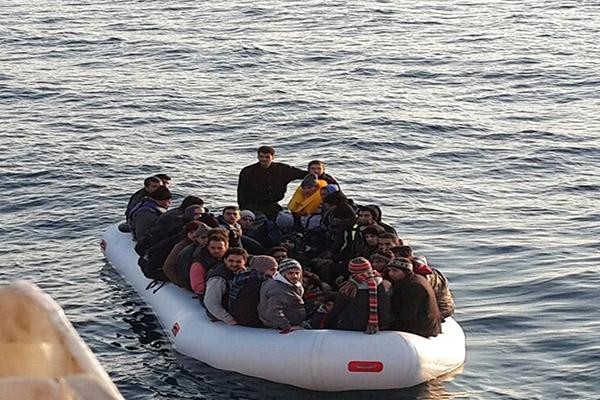 34 Kaçak Göçmen Yakalandı