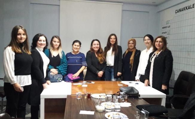 AK Kadınlar Çanakkale'yi ele aldı