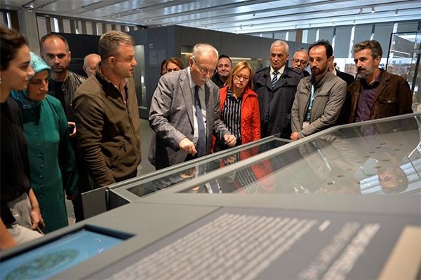 Belediye Meclisi Troya Müzesi'nde…
