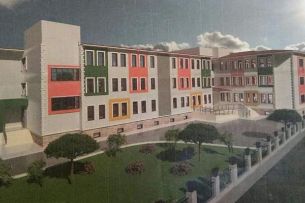 Biga'ya yeni okul yapılıyor