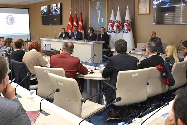 Bölüm Başkanları toplantıda buluştu