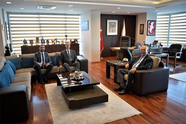 Dardeniz'den Başkan Gökhan'a ziyaret…