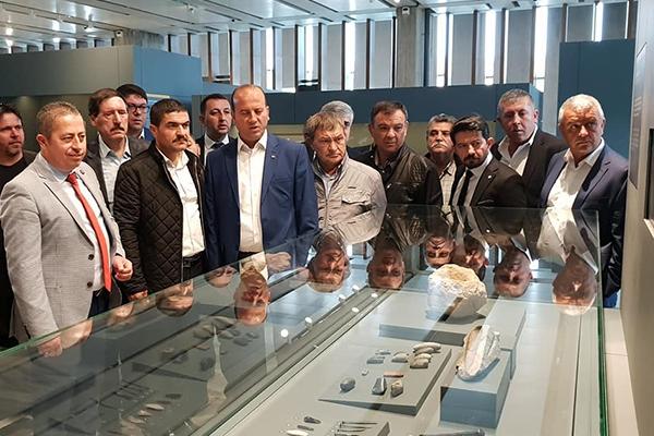 Oda Başkanları Troya Müzesi'nde