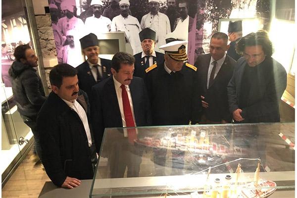 Tarihi Anadolu Hamidiye Tabyası ziyarete açıldı