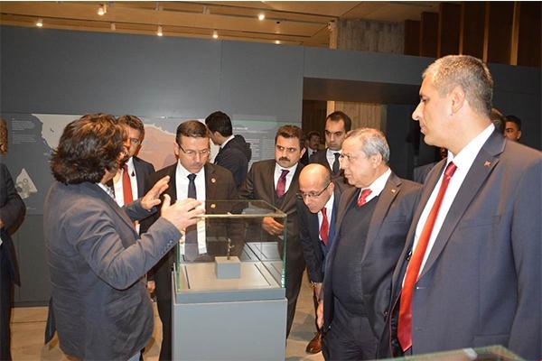 TROYA Müzesi'ni inceledi