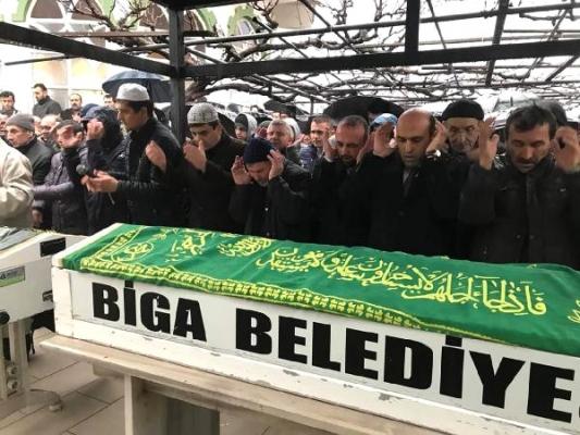 Kazada ölen işçiler toprağa verildi