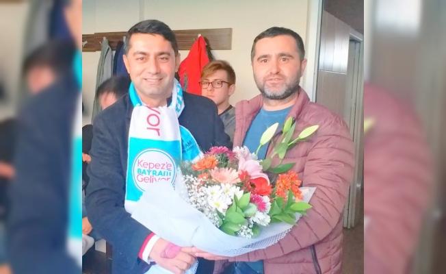 Kepezspor'un yanındayız