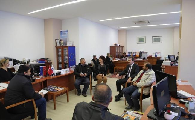 Vali Orhan Tavlı, vatandaşlarla buluştu