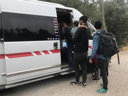 Yunanistan'a gidemeden yakalandılar