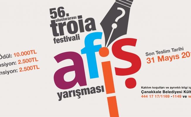 56. Uluslararası Troia Festivali Afiş Yarışması başlıyor
