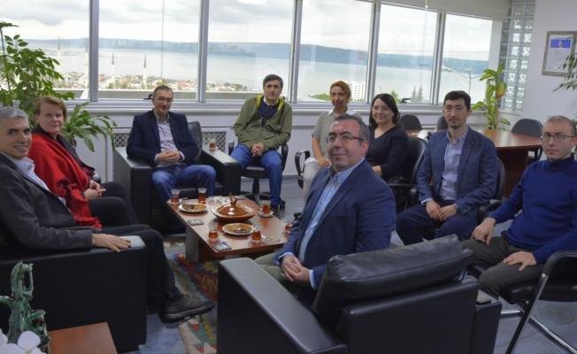 AB Proje ekibinden ÇOMÜ'ye ziyaret