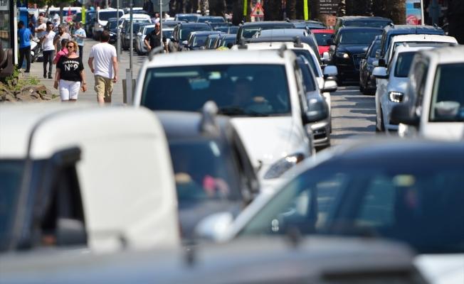 Araç sayısı hızla artıyor