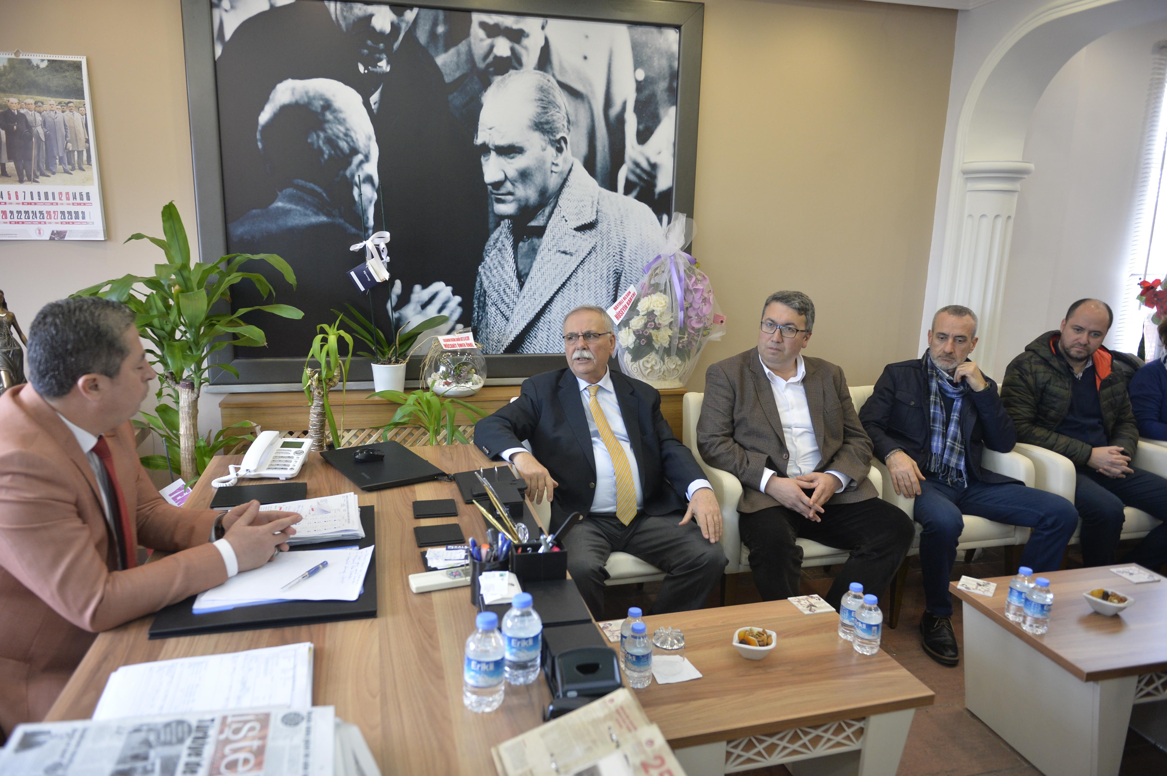 Başkan Gökhan esnaf temsilcileriyle buluştu