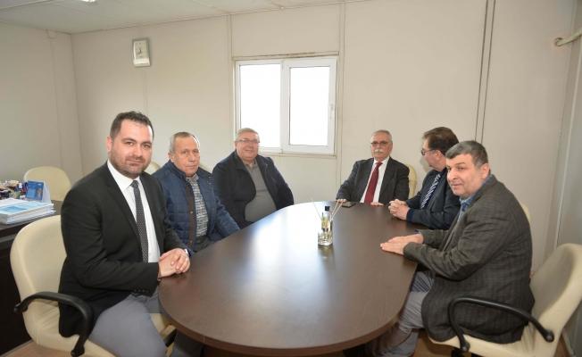 Başkan Gökhan OSB Yönetimi ile görüştü