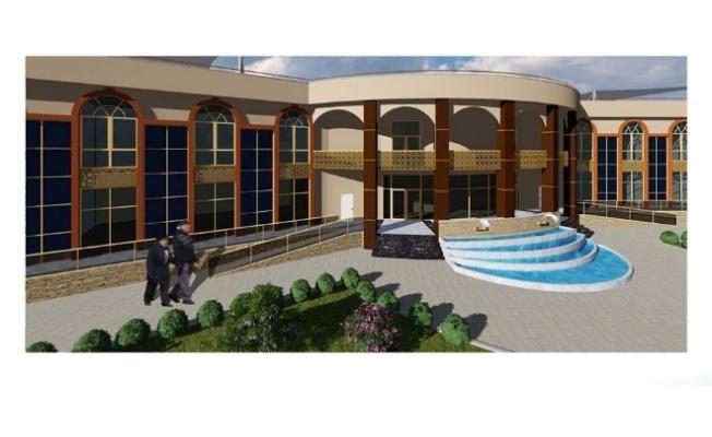 Çardak Ticaret Merkezi inşaatı yapımı başladı