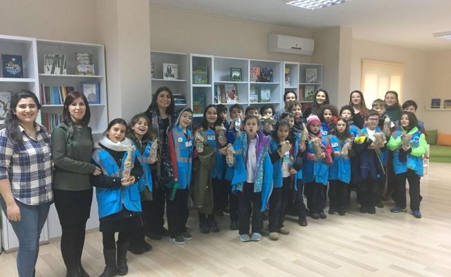 Çocuk Kültür Evi öğrencileri konuk etti