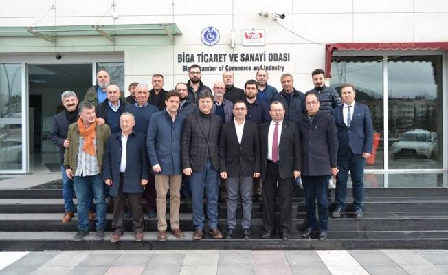 Erdoğan işadamlarıyla buluştu