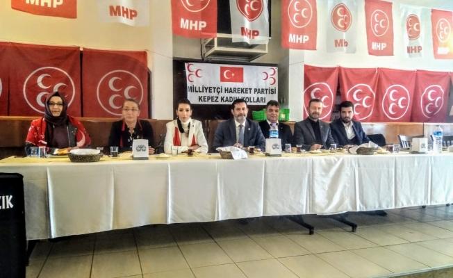 'Kadınlar Güçlensin Türkiye Büyüsün'