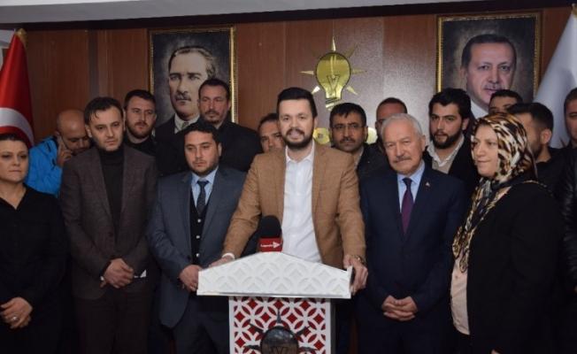 Lapseki'de AK Parti adayları tanıtıldı