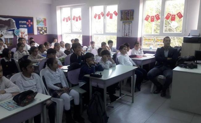 Öğrencilere temizlik eğitimi