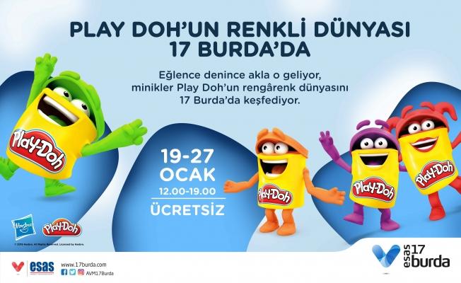 Play-Doh'un Renkli Dünyası 17 Burda'da